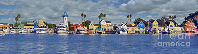 Beach Photograph - Fisherman's Village Marina Del Rey Ca by David Zanzinger
