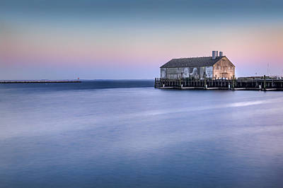 Provincetown Photograph - Fishermans Wharf by Bill Wakeley