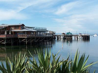 Fishermans Wharf Art Print by Christine Drake