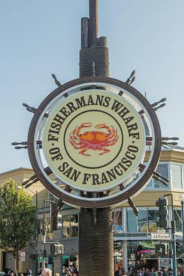 Oakland Neighborhood Photograph - Fisherman's Wharf by Ken Kobe