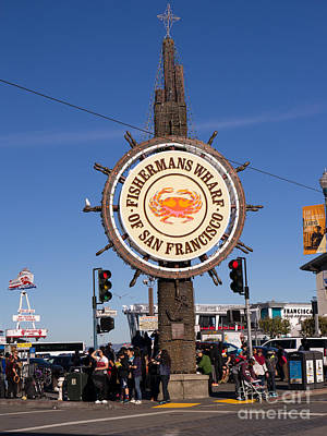 Photograph - Fishermans Wharf San Francisco California Dsc2030 by Wingsdomain Art and Photography