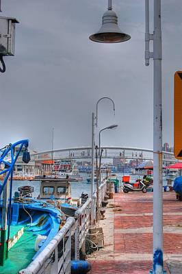 Photograph - Fisherman's Wharf Taiwan by Bill Hamilton