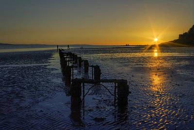 Photograph - Fishermen At Sunset by Ian Mitchell