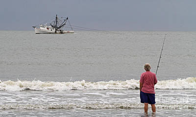 Photograph - Fishermen by Kevin McCarthy