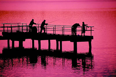 Photograph - Fishermen by Raymond Salani III