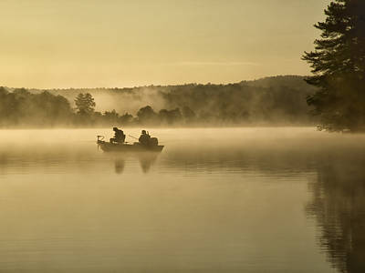 Purchase Online Photograph - Fishermen by Steven Michael