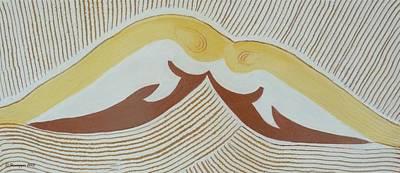 Painting - Fishes At Play by Hemu Aggarwal