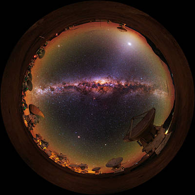 Andes Wall Art - Photograph - Fisheye View by Babak Tafreshi