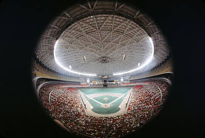 Houston Astrodome Art Print by Retro Images Archive