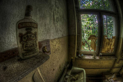 Digital Art - Fisheye Vodka  by Nathan Wright