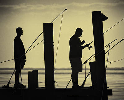 Photograph - Fishing At Dawn by Fran Gallogly