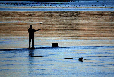 Photograph - Fishing At Remic Rapids. by Rob Huntley