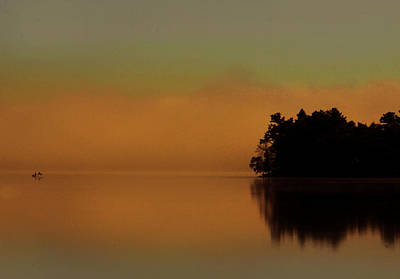 Photograph - Fishing At Sunrise by Jim Vance