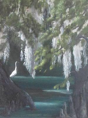 Fishing At Wakulla Original by Susan Richardson
