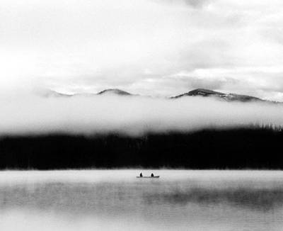 Photograph - Fishing At Warm Lake by Tarey Potter
