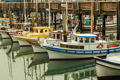 Fishing Boat 3 Art Print by Ken Kobe