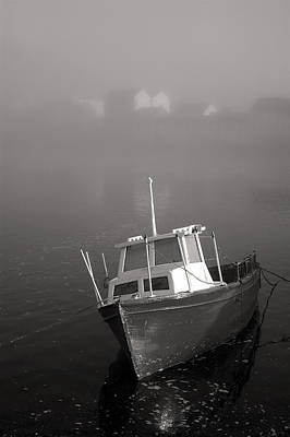 River Corrib Photograph - Fishing Boat Galway Ireland by Pierre Leclerc Photography