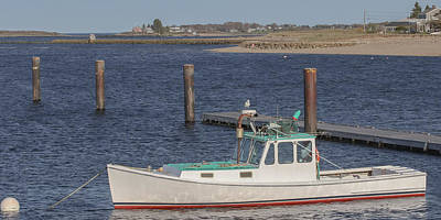 Photograph - Fishing Boat In Camp Ellis by Kirkodd Photography Of New England