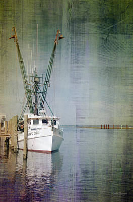 Photograph - Fishing Boat In Chincoteague by Julia Springer
