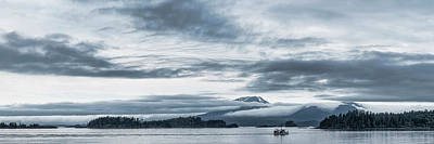 Fishing Boat In Ocean With Reddit Art Print by Panoramic Images