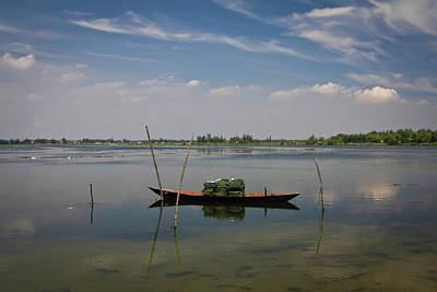 Recreational Boat Photograph - Fishing Boat by Janette Asche