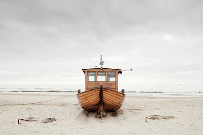 Photograph - Fishing Boat by Jorg Greuel