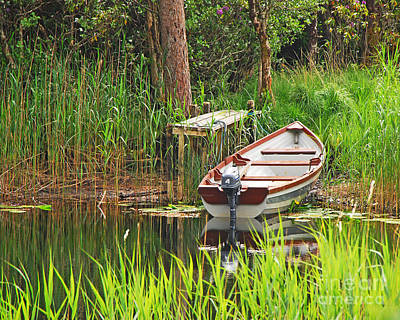 Photograph - Fishing Boat by Mary Carol Story