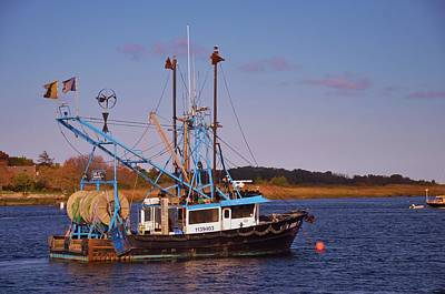 Photograph - Fishing Boat Newburyport by Robert Habermehl