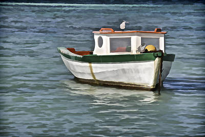 Photograph - Fishing Boat Of The Caribbean by David Letts