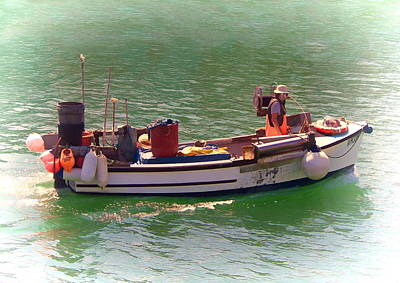 Photograph - Fishing Boat by Paul Gulliver