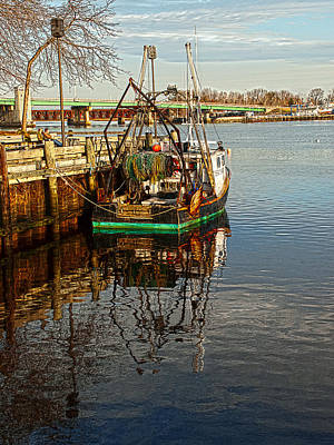 Photograph - Fishing Boat by Rick Mosher