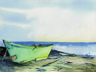 Painting - Fishing Boat by Sean Parnell