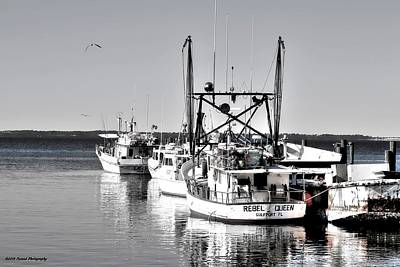 Photograph - Fishing Boats by Debra Forand