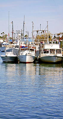 Photograph - Fishing Boats by Donna Proctor