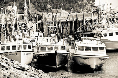 Photograph - Fishing Boats In Alma by Cheryl Baxter