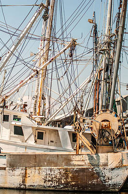 Photograph - Fishing Boats In Harbour by Alex Grichenko