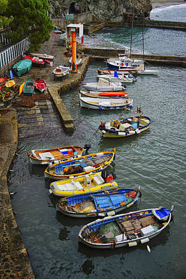 Photograph - Fishing Boats Monterosso Italy Dsc02616 by Greg Kluempers