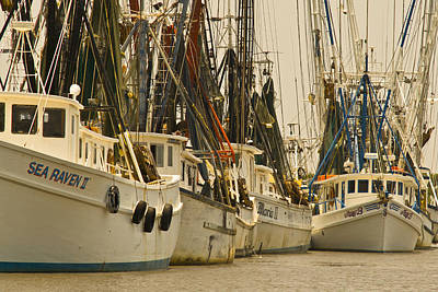 Photograph - Fishing Boats by Patrick M Lynch