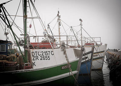 Fishing Boats Art Print by Tom Hudson
