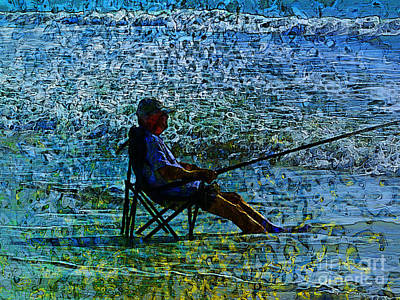 Photograph - Fishing by Claire Bull