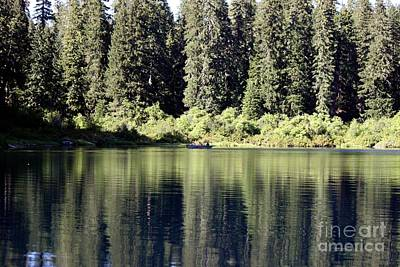 Photograph - Fishing Clear Lake by Erica Hanel