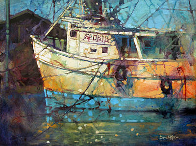 Painting - Fishing Colors by Dan Nelson
