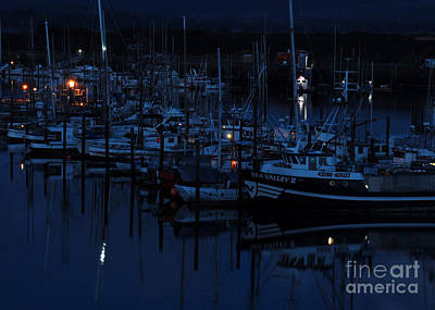 Photograph - Fishing Fleet At Rest I by Chuck Flewelling