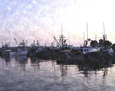 Fishing Fleet Ffwc Art Print by Jim Brage