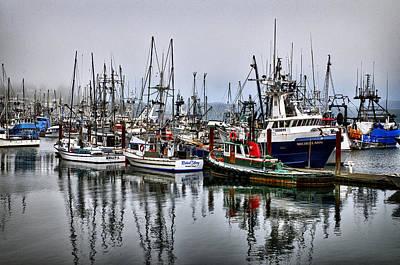 Photograph - Fishing  Fleet by Tom Zachman