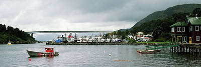 Kodiak Photograph - Fishing Fleets At The Coast, Kodiak by Panoramic Images