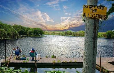 Photograph - Fishing Florida by Bob Pardue