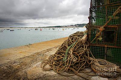 Boat Photograph - Fishing Gear by Carlos Caetano