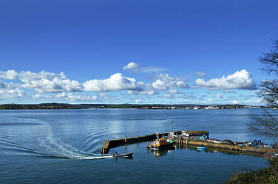Fishing Harbour Photograph - Fishing Harbour At The Pilot Boats by Panoramic Images