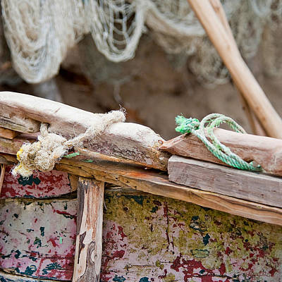 Photograph - Fishing Knots by Renee Sullivan